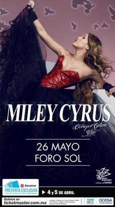 Gyspy Heart Tour poster