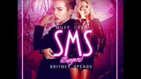 Miley Cyrus - SMS (ft. Britney Spears) (Audio)