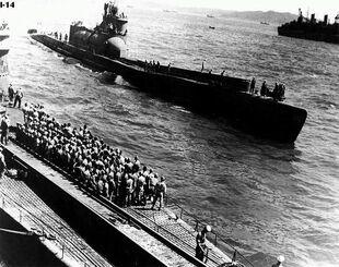 SAe I-400 Lado USS-Proteus