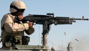 M240B on HMMWV