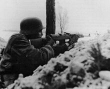 German Grenadier Infantry with a G43 Rifle, Eastern Front