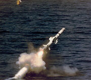 Harpoon launched by submarine
