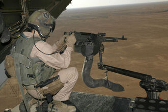 V-22 M240 machine gun