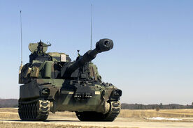 M109A6 Paladin-front ID DA-SD-03-07467