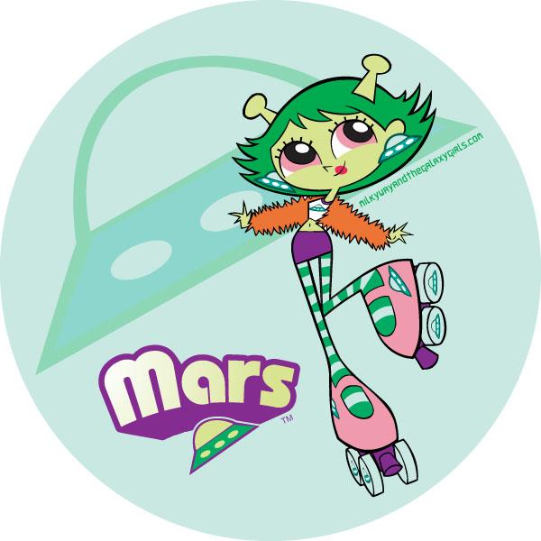 Mars   Milky Way and the Galaxy Girls Wiki   FANDOM ...