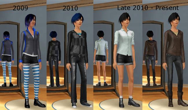 Sims Blanky Reincarnations