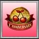 1st Anniversary Badge