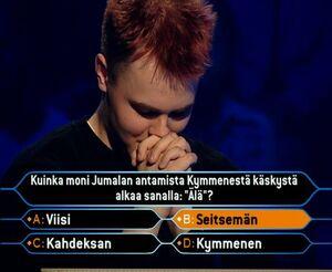 Markku Rikola final answer