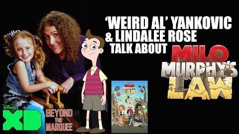 Weird Al Yankovic & Lindalee - Milo Murphy's Law - Interview