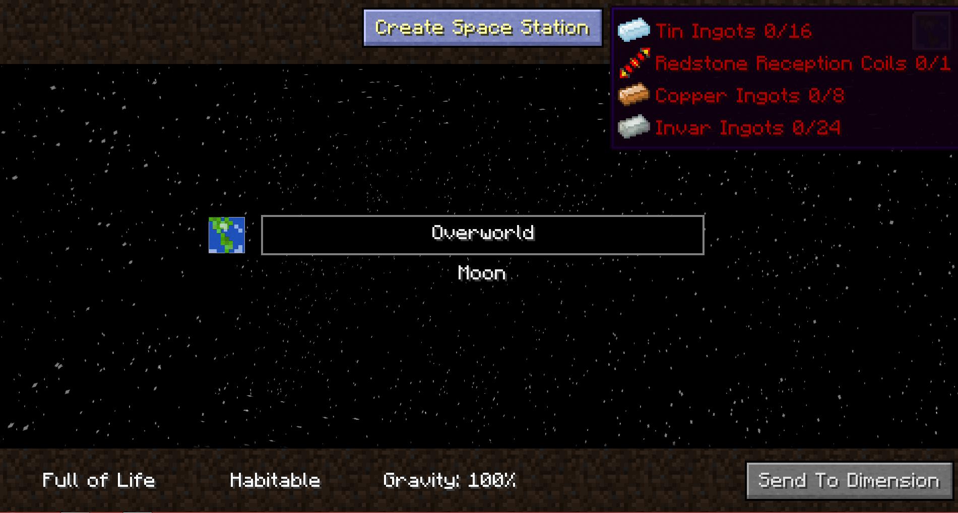 Space Station Minecraft Big Dig Pack Wiki Fandom