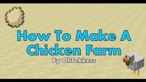 Minecraft Chicken Egg Farm - Redstone Tutorials 1.5.1-0