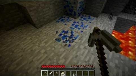 Minecraft Blocks & Items Lapis Lazuli