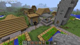 Minecraft-1.8-village