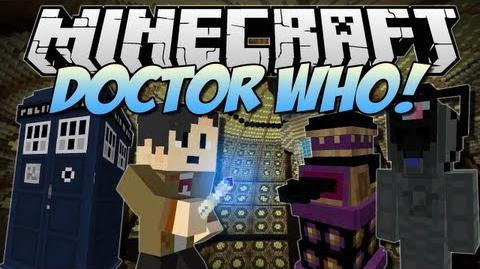 Minecraft DOCTOR WHO! (Tardis, Daleks, Cybermen & More!) Mod Showcase 1.6.2