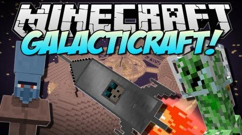 Minecraft GALACTICRAFT! (The Moon, Space Stations & More!) Mod Showcase 1.6