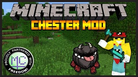 Minecraft Mod Review Chester Mod HE'S SO CUTE! (1.7.10)