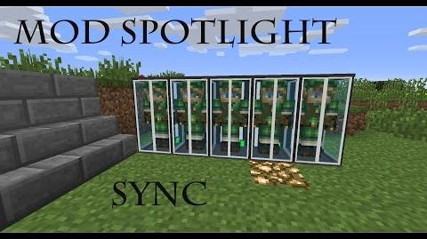 minecraft sync mod how to use shell storage