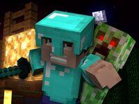 Revenge-Minecraft-Parody-of-Usher-DJ-Got-Us-Fallin-in-Love-by-CaptainSparklez-Bootstrap-Buckaroo-TryHardNinja-Doc-Exx-Music