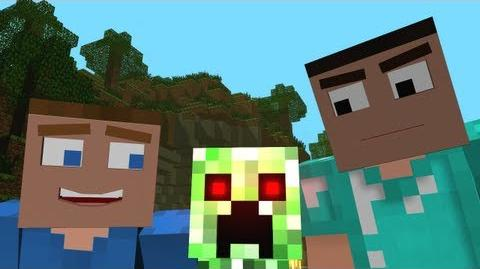 "♫ ""Creepers are Terrible"" - A Minecraft Parody of One Direction's What Makes You Beautiful-0"