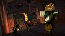 Minecraft-Season-2-Ep-1 CaveWondersTunnels Spiders