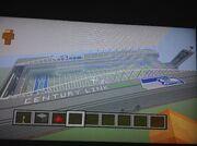 Redfires Minecraft stadium