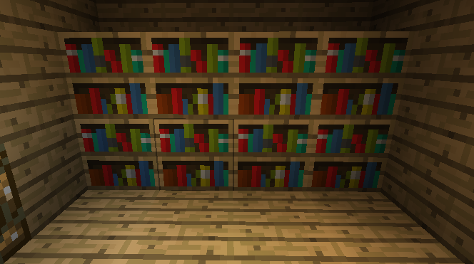 Bookshelves.png - Image - Bookshelves.png Minecraft Wiki FANDOM Powered By  Wikia - - Minecraft Bookshelves IDI Design