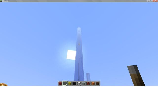 File:Ground view of tall building - Minecraft.jpg