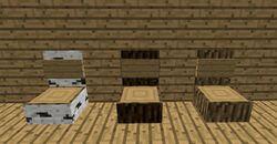 Log chairs