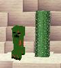 Zombie creeper ingame