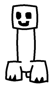 Smiling Creeper Template