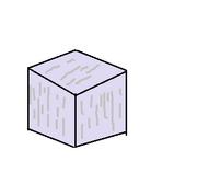 Moonstone block