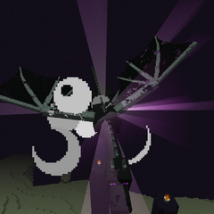 Dying Ender Dragon