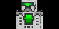 Futuristic robot skin