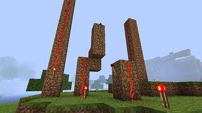 Vertical redstone