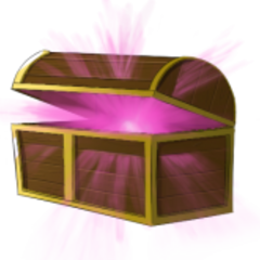 Former official artwork for Ancient Chests.