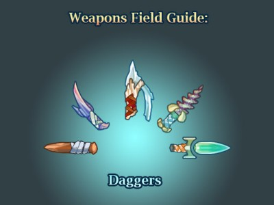 Weapons field guide-daggers