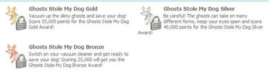 Awards of ghost stole my dog