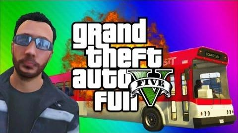 GTA 5 Online Funny Moments Gameplay 2 - WE DUH BUS, Bugatti Chase Fun, Hooker (Multiplayer)