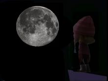 Edith at night
