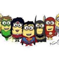 Minions in Justice League Form
