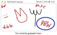 Draw It Satan