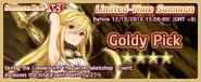 Goldy Pick Summon Banner