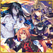 Kamui Vipera Cerberus Uesugi Kenshin Square