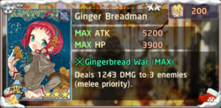 Ginger Breadman Exchange Box