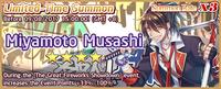Miyamoto Musashi Summon Banner