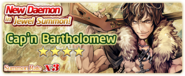 Cap'n Bartholomew Summon Banner