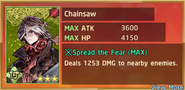 Chainsaw Summon Preview