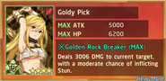 Goldy Pick Summon Preview