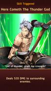 Kintaro's Axe Skill