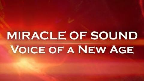 VOICE OF A NEW AGE by Miracle Of Sound (Industrial EDM)